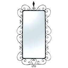 wrought iron picture frames large beveled mirror in a frame s at target pictu metal bed frame vintage wrought