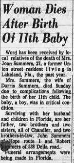 Obituary for Joan Summers (Aged 27) - Newspapers.com