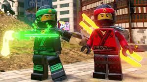 The LEGO Ninjago Movie Video Game - Ninjago City Free Roam (Kai, Cole, Jay,  Lloyd, Zane & Nya) - YouTube