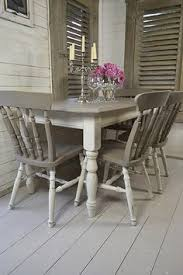 dine in style with our stunning grey and white split dining set painted in annie dining table upcyclepainted dining room