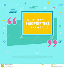Abstract Concept Empty Speech Square Quote Text Bubble For Web And