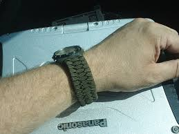 paracord watch band pattern