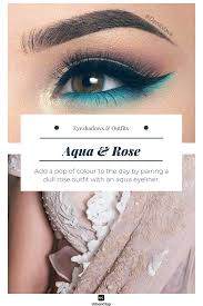 Light Pink And Blue Eyeshadow How To Match Your Eyeshadow Makeup With Any Indian Outfit