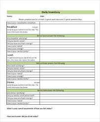 daily inventory sheets 8 daily inventory templates sample example free
