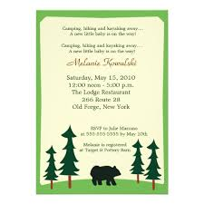 Golf Themed Words Of Wisdom Baby Shower Cards Daddyu0027sCamping Themed Baby Shower Invitations