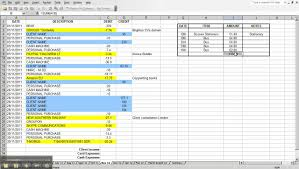 Personal Expenses Spreadsheet Daily Monthly Budget India Business