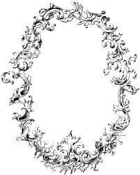 fancy frame border transparent. Free Fancy Frame Vintage Clip Art Image (Oh So Nifty Graphics) Border Transparent