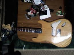 squier bullet 20th anniversary tom delonge mod ultimate guitar and heres the neck i got on on the guitar before i painted it