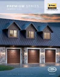 clopay premium series garage door