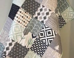 Baby quilt   Etsy & Tribal Baby Quilt, Baby Boy Bedding, Aztec Mudcloth Baby Quilt, Neutral  Baby Quilt Adamdwight.com