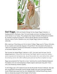 Riggs, Gail - National Women's Hall of Fame