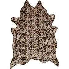 genuine brazilian cowhide rug cheetah