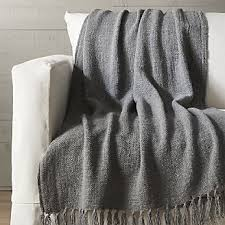 fringe throw blanket. Brilliant Fringe Aris Grey Fringe Throw In Blanket O