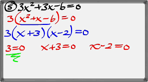 solving quadratics by factoring graphing