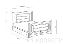 Купить двуспальную <b>кровать Титан</b> с ящиками в Екатеринбурге ...