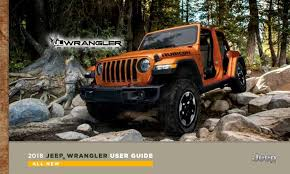 novo jeep 2018. delighful jeep 2018 jeep wrangler jl owners manual and user guide inside novo jeep
