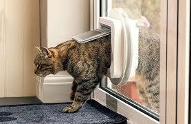 cat flap fitting