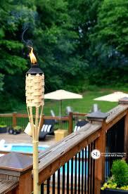 outdoor tiki torches gas best