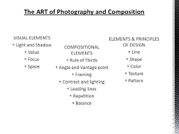 elements and principles of photography composition and elements of design ppt video online download