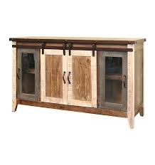 barn door console sliding cabinet hardware stand plans entry table exterior