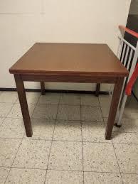 Tisch Ausziehbar Nussbaum Quadratischer In 96117 Memmelsdorf Für