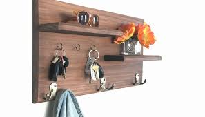 Wall Hanging Coat Racks Wall Mounted Shelves With Hooks Awesome Coat Rack Organizer Wall 63