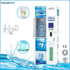 Glacier Vending Machine Cool Low Price Advanced Reverse Osmosis Glacier Water Vending Machine