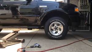 2006 ford explorer tires size changing the wheels and tires on a 2006 ford ranger youtube