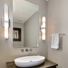 modern lighting bathroom. How To Light A Bathroom Vanity Design Necessities Lighting With Modern Plans 3 H