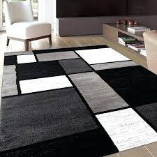 inspiration house interesting black and white area rugs best rug variety with regard to gray 5x7