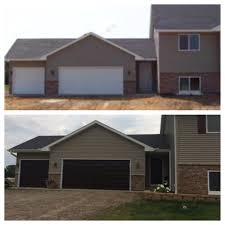garage doors home depotBefore and after garage doors  gel stain  homedepot Choose to