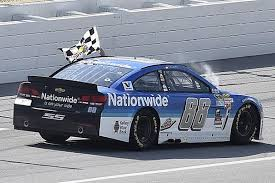 Dale Earnhardt Jr Breaks 2015 Nascar Sprint Cup Duck At