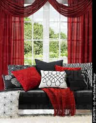 black and white furniture with red accents black leather sofa with red black and black and red furniture