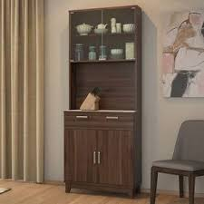 Images of kitchen furniture Green Alton Door Tall Display Cabinet walnut Finish By Urban Ladder Urban Ladder Kitchen Cabinets Design Browse Kitchen Cabinets Pictures Designs