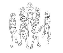 Small Picture Epic Teen Titans Coloring Pages 13 In Coloring Pages for Adults
