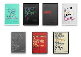 Fonts Posters Tribute To Fonts Typographic Poster Series By Moe Pike Soe