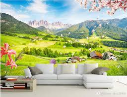 outdoor desktop backgrounds. 3d Room Wallpaper Custom Photo Mural Outdoor Green View Tv Wall Background Painting Picture Murals For Walls 3 D Free Desktop Backgrounds