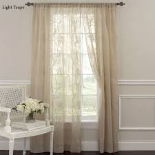 frosting sheer curtain panel 52 x 84