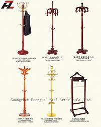 solid wood suit valet stand for coat rack stand 4