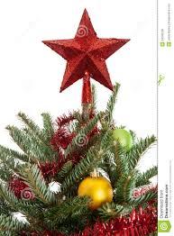 Star on top of a Christmas Tree