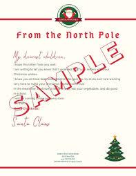 5 Letter To Santa Template Printables Downloadable Pdf