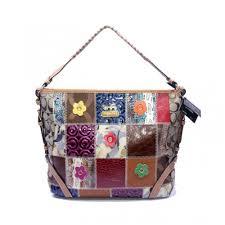 Coach Holiday Fashion Medium Brown Shoulder Bags DMC
