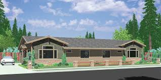 most popular house plans. D-588 One Story Duplex House Plans, Ranch 3 Bedroom Most Popular Plans C