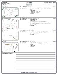 Coaching Plan Template Cool Practice Schedule Template Basketball Plan 48 Free Side By Coaching