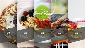 Food Presentation Template Good Food Keynote Presentation Template