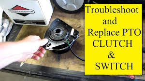 troubleshoot replace mower pto clutch youtube pto clutch wiring diagram troubleshoot replace mower pto clutch