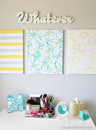 easy diy wall art yellow gray turquoise on yellow and grey wall art canvas with easy diy canvas wall art sand and sisal