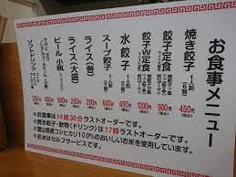 みっちゃん 餃子