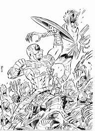 Disegni Da Colorare Di Spiderman Gli Avengers Secondo Me