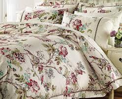 A beautiful Oriental Design Quilt Cover Set, ideal to brighten ... & Diana Cowpe Oriental Rose Quilt Cover Sets Adamdwight.com